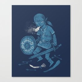 breath of the link Canvas Print