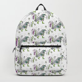 Time for snow (+pattern) Backpack