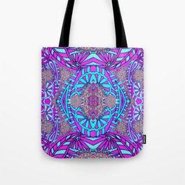 Mandala Collage Tote Bag
