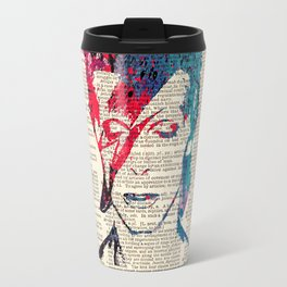 Aladdin sane on dictionary page Travel Mug