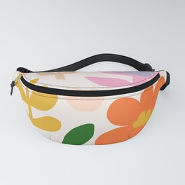 Abstraction_Floral_Minimalism_001 Fanny Pack