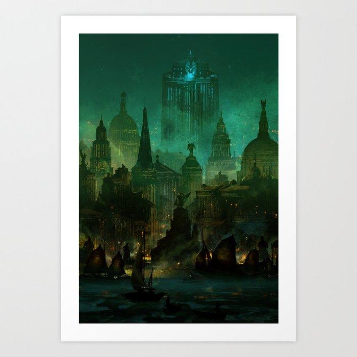 Angelwatch Art Print