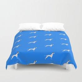 DALMATIANS ((true blue)) Duvet Cover