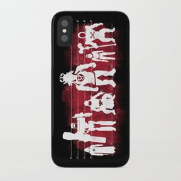 Plastic Villains  iPhone Case