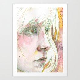Looking Glass Art Print
