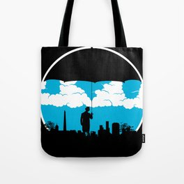 Umbrella Man Tote Bag