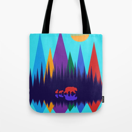 Bear & Cubs #3 Tote Bag
