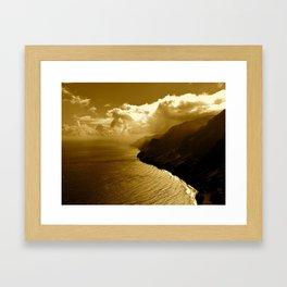 Na Pali Framed Art Print