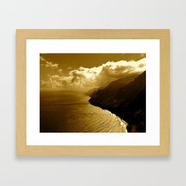 Na Pali Framed Art Print