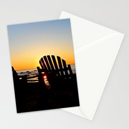 Dream Seats at Sunset Stationery Cards