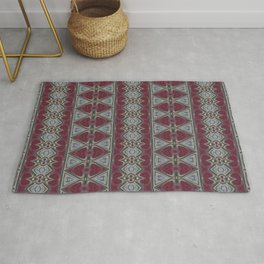 Cubanique D3 - Abstract Rug