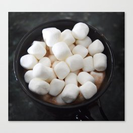 Hot chocolate Canvas Print