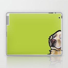 George the golden retriever Laptop & iPad Skin