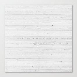 WHITEWASHED PINE Canvas Print