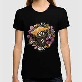 Honeycomb D20 Tabletop RPG Gaming Dice T-shirt