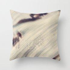 Lost at Sea Throw Pillow