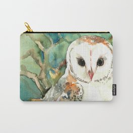 Barn Owl, woodland design owl Carry-All Pouch
