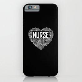 Love Nurse Heart iPhone Case