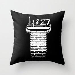 Swiss Army Watch Throw Pillow