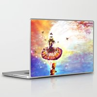 ballerina Laptop & iPad Skins featuring BALLERINA by danyDINIZ