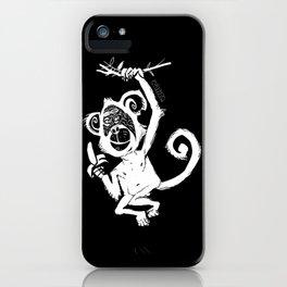happy monkey iPhone Case