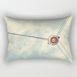 Old Lamp Rectangular Pillow