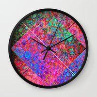 depeche mode Wall Clocks featuring Mode by JKyleKelly