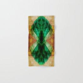 Green Shell Hand & Bath Towel