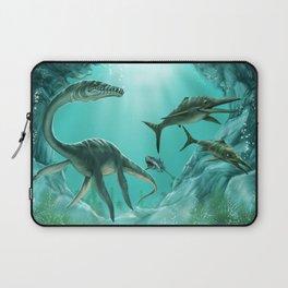 Underwater Dinosaur Laptop Sleeve