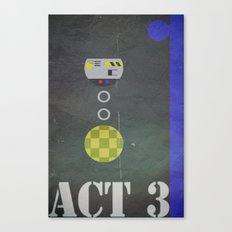 Act 3 Canvas Print