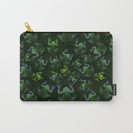 Frogs On Weed Carry-All Pouch