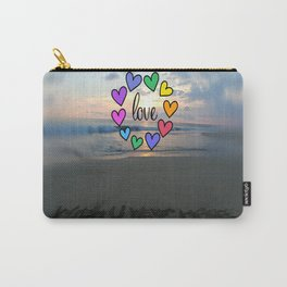 Love in the air (Wish you were here) Carry-All Pouch
