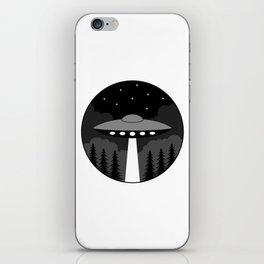 UFO Badge iPhone Skin