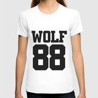 exo T-shirts featuring EXO WOLF 88 by Cathy Tan