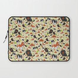 Spaniel Pattern Laptop Sleeve