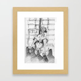 The TV Framed Art Print