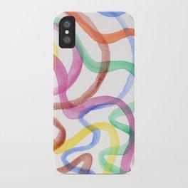 Kaleidoscope I iPhone Case