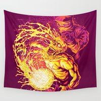 acid Wall Tapestries featuring ACID DUNK by BeastWreck