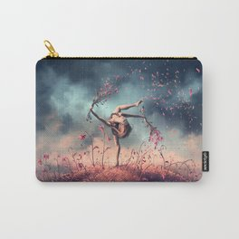 VIRGO from the Dancing Zodiac Carry-All Pouch