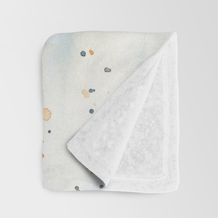 White Daisies Throw Blanket