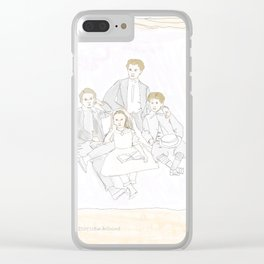 The children on the grand tour Clear iPhone Case