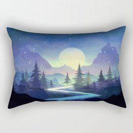 Touching the Stars Rectangular Pillow