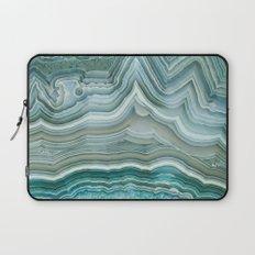 Agate Crystal Blue Laptop Sleeve