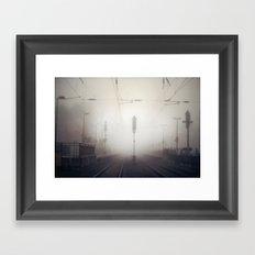 Fogyard Framed Art Print