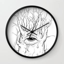 TreeClops Wall Clock