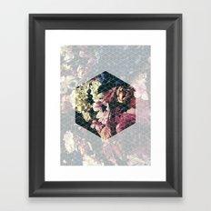 Spring Geometry Framed Art Print