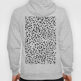 Dalmat-b&w-Animal print I Hoody