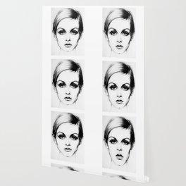 60's Eyelashes Wallpaper