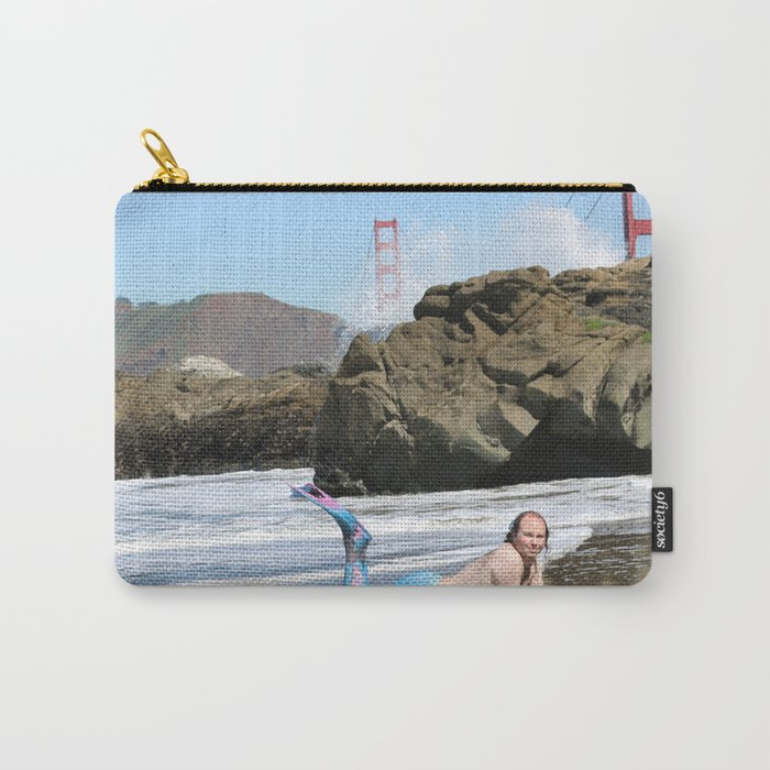 San Francisco Merman Carry-All Pouch