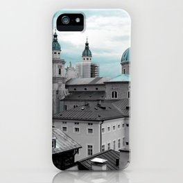 Salzburg in Turquoise iPhone Case